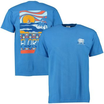 Florida Gators Scenic Comfort Colors T-Shirt - Royal