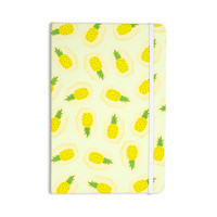 "Strawberringo ""Pineapple Pattern"" Yellow Fruit Everything Notebook"