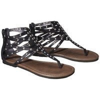 Target : Women's Mossimo Supply Co. Odella Gladiator Stud Sandal - Black : Image Zoom