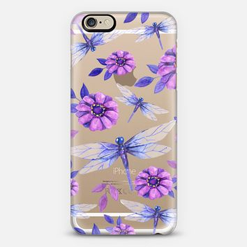 Purple Dragonflies iPhone 6 case by frenchpress   Casetify