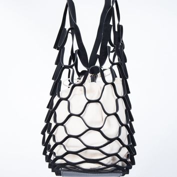 Netted Honeycomb Bag