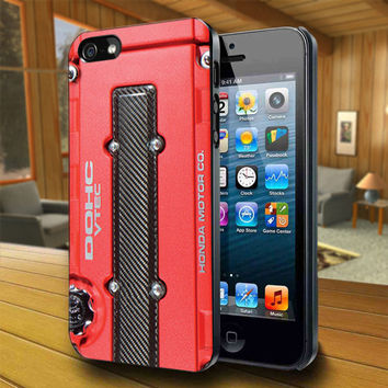 DOHC JDM Honda Vtec - Print on Hard Cover For iPhone 4/4S and iPhone 5 Case - Please Leave Message For Device And Colour Case