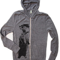 Unisex OTTER Eco Heather Hoody - Alternative apparel - all sizes xs s m l xl (3 Color Options)