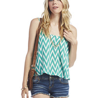 Chevron Swing Tank | Wet Seal