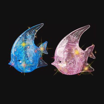 3D Crystal Fish Puzzle