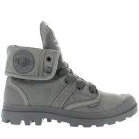 Palladium Pallabrouse Baggy - Titanium/Hi-Rise Canvas/Rubber Lace Boot