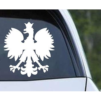 Polska Polish Poland Eagle Die Cut Vinyl Decal Sticker