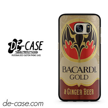 Bacardi Gold & Ginger Beer DEAL-1281 Samsung Phonecase Cover For Samsung Galaxy S7 / S7 Edge