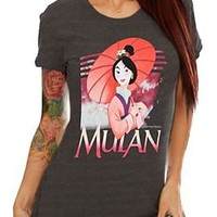 Disney Mulan Umbrella Girls T-Shirt - 300627