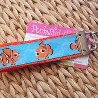 Finding Clown Fish Key Fob Wristlet by Posiesgurl on Etsy