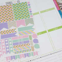 Pineapple Weekly Kit - Perfect for Erin Condren Life Planner