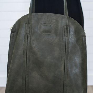 The Every Girl 2 in 1 Tote - Olive