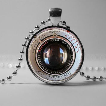 CAMERA LENS PENDANT pendant Camera lens necklace camera jewelry gift for the photographer
