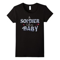 Women's Army Girlfriend T-Shirt For Proud Army Wives and Girlfriends
