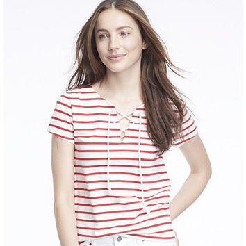 Women's Signature Nautical French Sailor Tee, Stripe | Now on sale at L.L.Bean