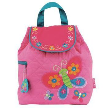Personalized Quilted Stephen Joseph Backpack Butterfly