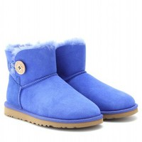 Mini Bailey Button Shearling Lined Shoe Boots  ♦ UGG Australia ☼ mytheresa