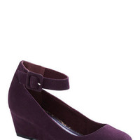 Plum as You Are Wedge | ModCloth.com
