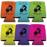 Drink Up Witches Halloween Koozie Set - Set of 6