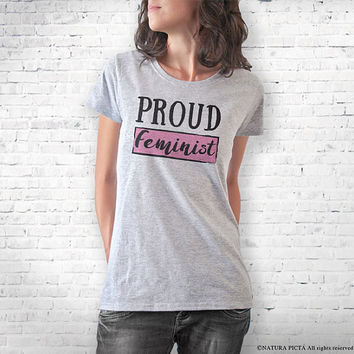 Feminist T-shirt- feminist tank top-Women's T-Shirts-feminist clothing-gifts for feminists-graphic tees-Christmas gift-NATURA PICTA-NPTS102