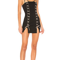 h:ours x REVOLVE Blake Dress in Black