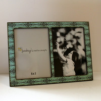 Double 5x7 Wood Picture Frame- Holds 2 pictures