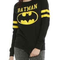 DC Comics Batman Varsity Girls Pullover Top