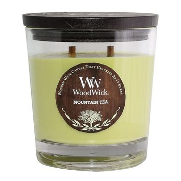 WoodWick Mountain Tea 17.2-oz. Jar Candle (Green)
