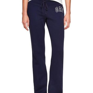 Gap Women Factory Logo Fleece Pants