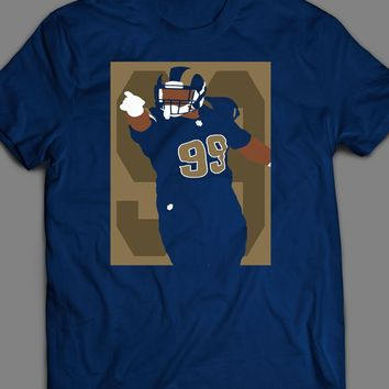 LOS ANGELES RAM'S AARON DONALD POP ART T-SHIRT