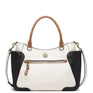 Tory Burch Frances Color-block Satchel