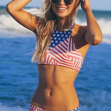 Stars & Stripes Swim Bottoms Multi