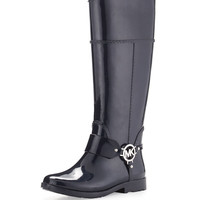 Fulton Harness Rain Boot, Navy - MICHAEL Michael Kors