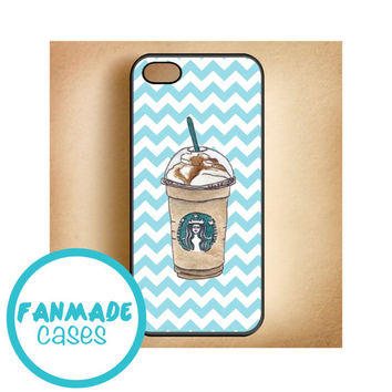 Coffee iPhone 4/4s 5/5s/5c & iPod 4/5 Rubber Case