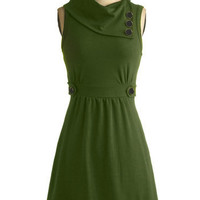 Coach Tour Dress in Vert | Mod Retro Vintage Dresses | ModCloth.com