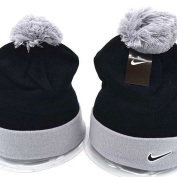 Nike Women Men Embroidery Beanies Winter Warm Knit Hat Cap-19
