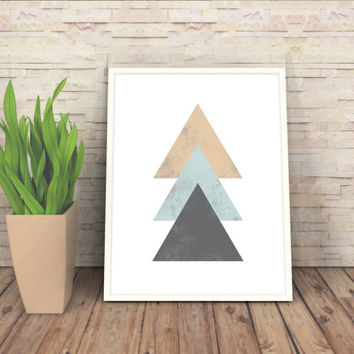 Geometric Poster,  Minimalist Art, Abstract Poster, Minimalist Print Geometric Art, Digital Printable File, Minimalist Poster