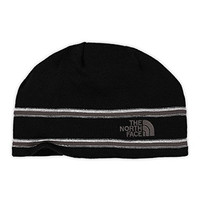The North Face The North Face Logo Beanie TNF Black/Graphite Grey OS