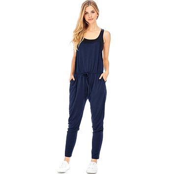 On Track Jogger Jumpsuit