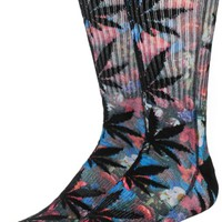HUF Floral Ground Plantlife Sublimated Crew Socks
