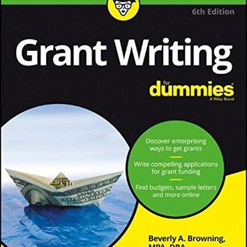 Grant Writing for Dummies Grant Writing for Dummies
