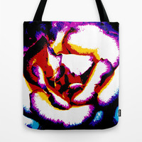Rose Tote Bag by Stephen Linhart