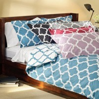 Lyon 3-piece Full/Queen-size Duvet Cover Set | Overstock.com