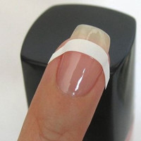 Nail Vinyls - French Manicure Tip Nail Guide Stickers, French Manicure Decals for fingernails