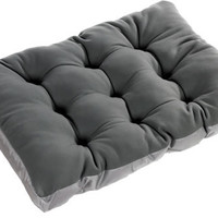 Bowsers Whistler Grey Eco-Friendly Futon Dog Bed