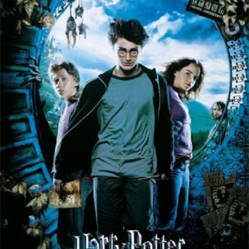 HARRY POTTER POSTER Prisoner of Azkaban RARE NEW