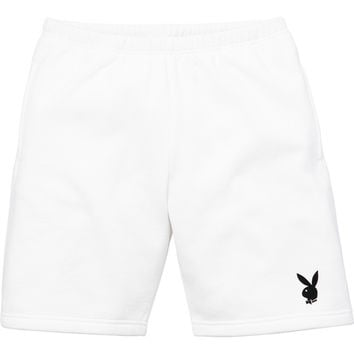 Supreme: Supreme®/Playboy© Sweatshort - White