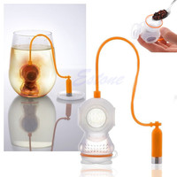 Deep Tea Diver Infuser Loose Leaf Strainer Silicone