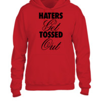 Haters Get Tossed Outd - UNISEX HOODIE