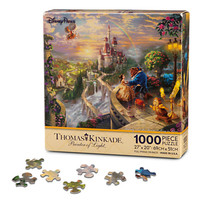 Disney Beauty and the Beast ''Falling in Love'' Puzzle by Thomas Kinkade | Disney Store